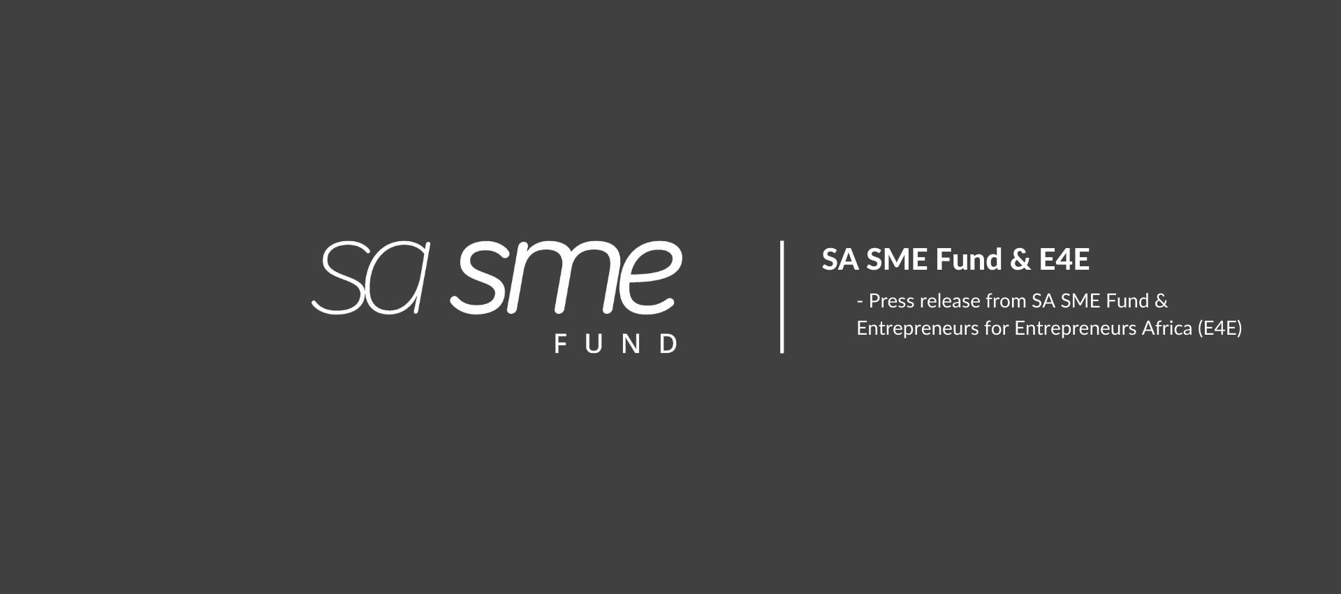 Entrepreneur-driven Venture Capital Fund E4E Africa launches, backed by SA SME Fund